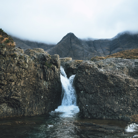 The Fairy Pools, Hamish Morrison, The Ferry Inn Skye