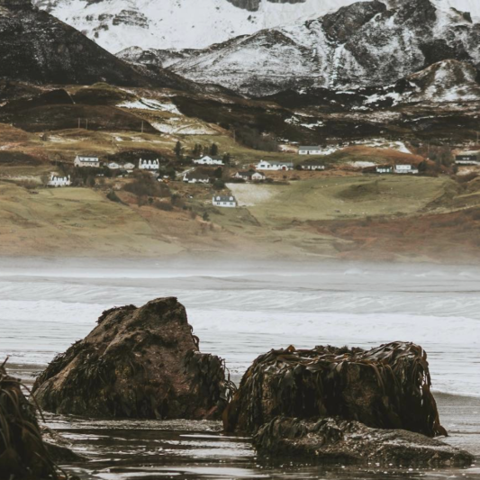 Staffin Beach, Hamish Morrison, The Ferry Inn Skye
