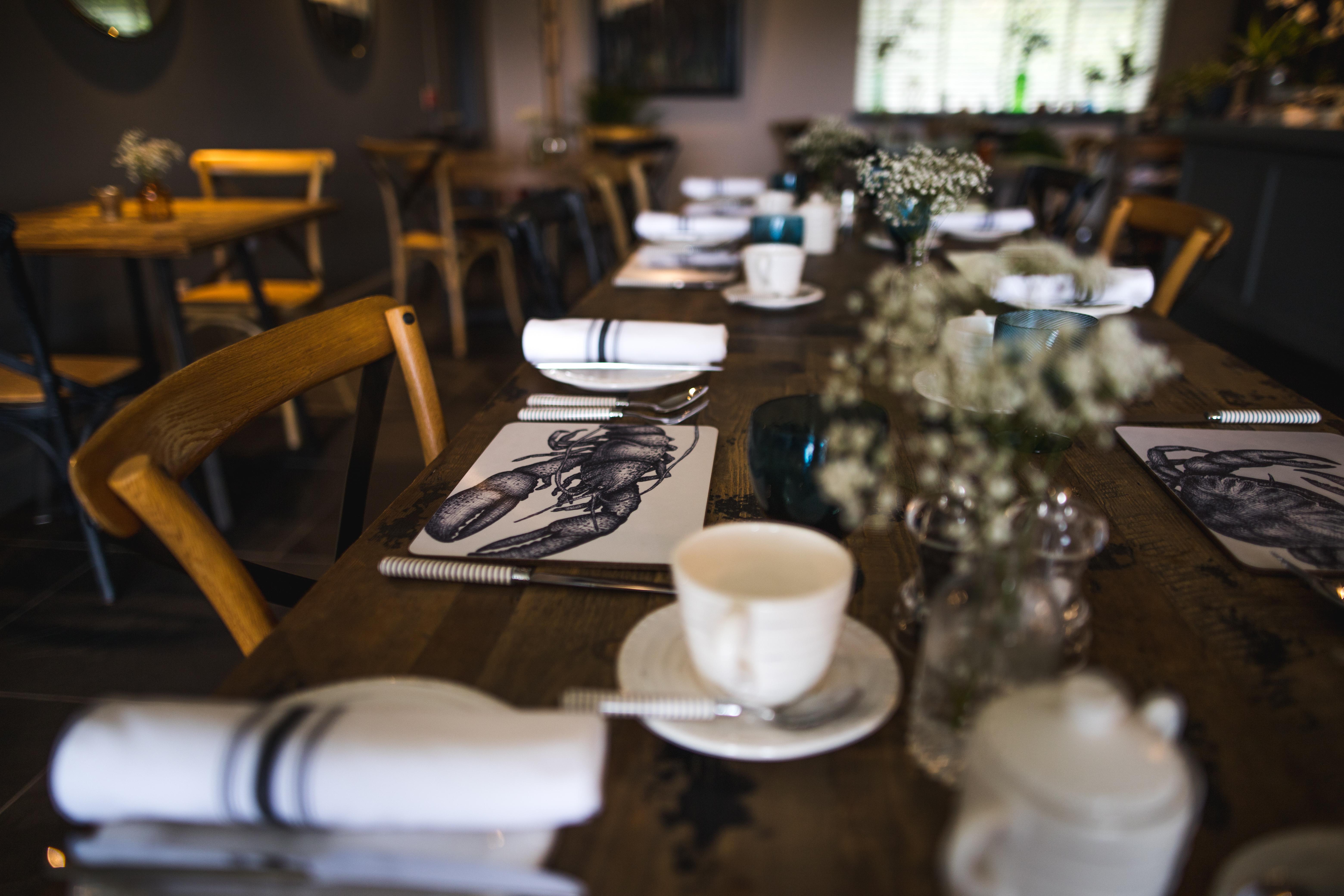 Breakfast at the Ferry Inn, Isle of Skye