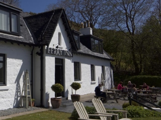 The Ferry Inn from the front garden